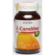 Vistra L-Carnitine 500 plus 3L (60 Tablets)