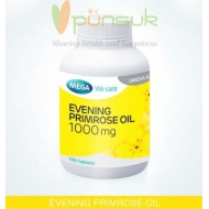 MEGA We care Evening Primrose Oil (100 Capsules)