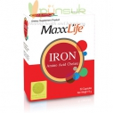 MaxxLife Iron Amino Acid Chelate (30 Capsules)