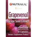 NUTRAKAL Grapevenol (30 Capsules)