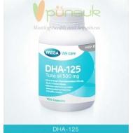 MEGA We care DHA-125 (100 Capsules)