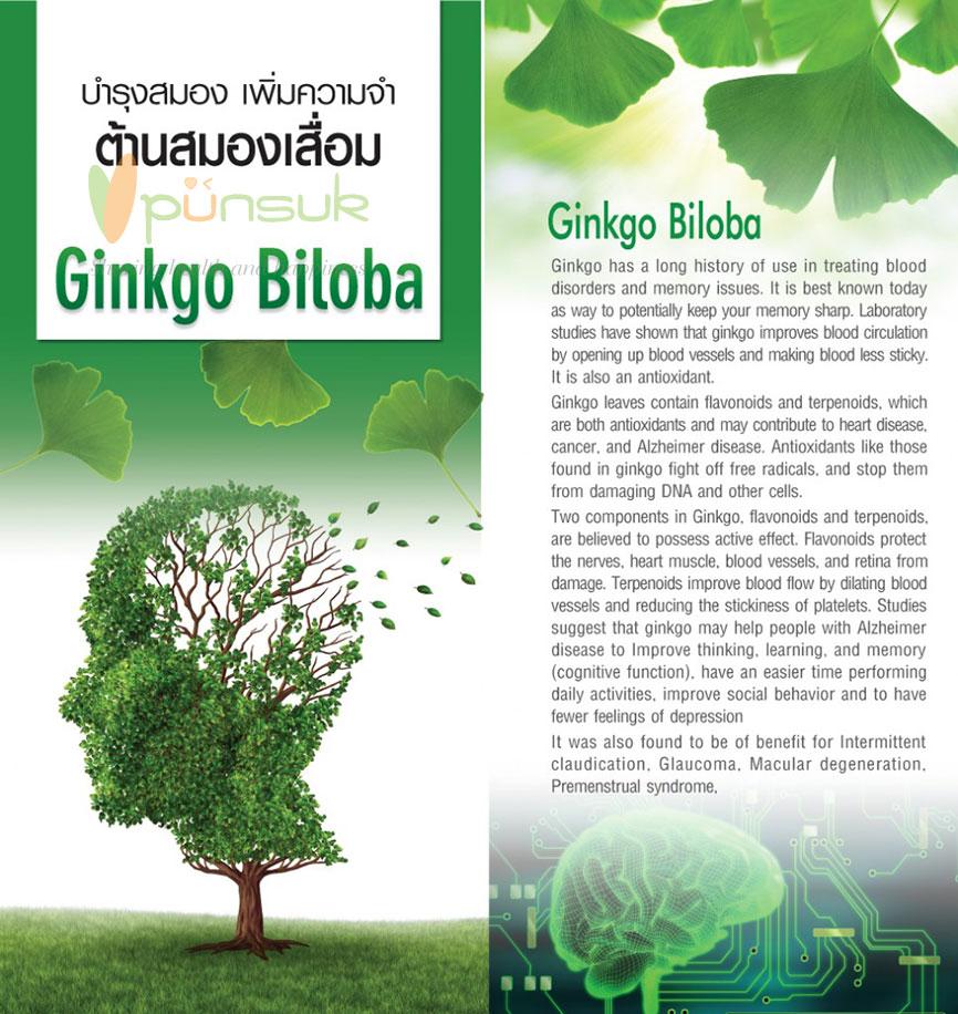 NUTRAKAL Ginkgo 60 (60 Tablets) x 2 กล่อง