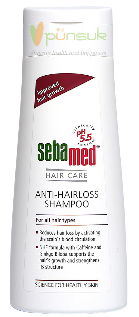 SEBAMED ANTI-HAIRLOSS SHAMPOO 200 ml.