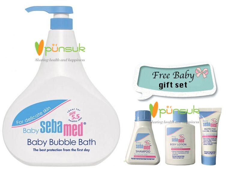 SEBAMED : BABY SEBAMED BABY BUBBLE BATH (PUMP) 1000 ML.