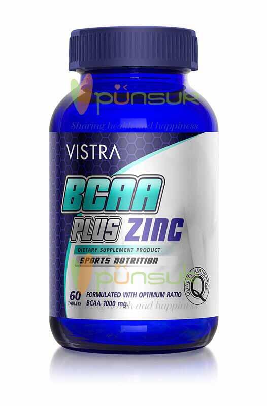 Vistra BCAA Plus Zinc (60 Tablets)