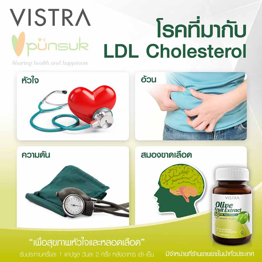 Vistra Olive Fruit Extract 60mg plus Vitamin E