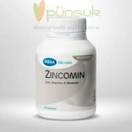 MEGA We care Zincomin (60 Capsules)