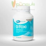 MEGA We care D-TOXI (30 Capsules)