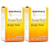 NUTRAKAL BREWER YEAST (60 Tablets) x 2 ขวด