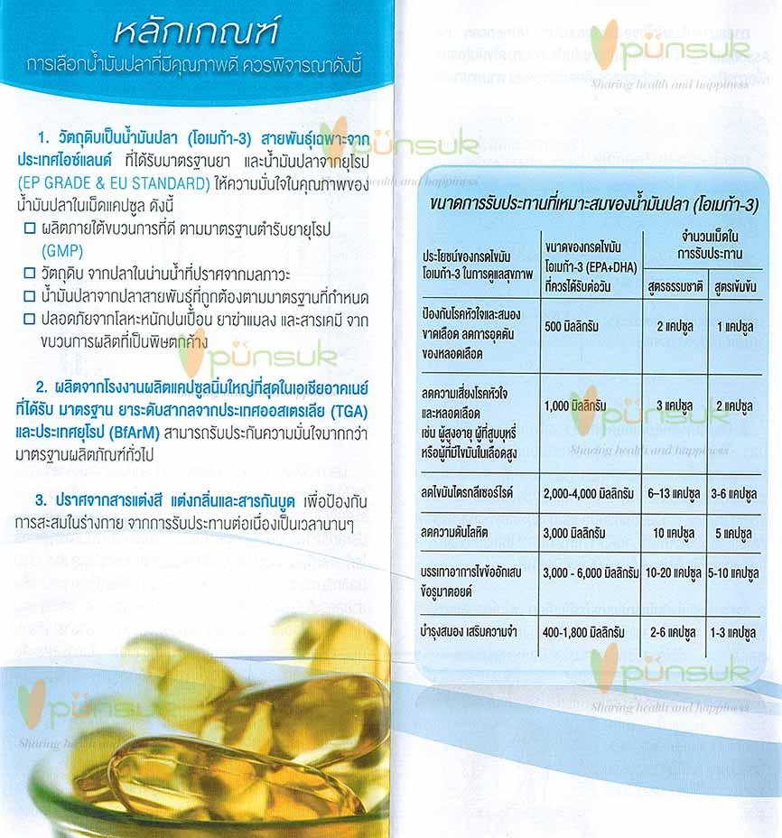 MEGA We care Fish Oil เมก้าวีแคร์ น้ำมันปลา