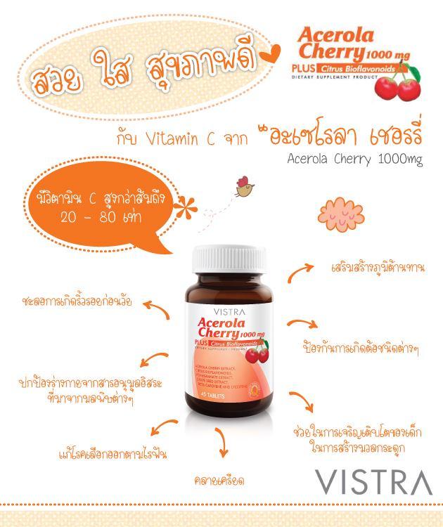 Vistra Acerola Cherry